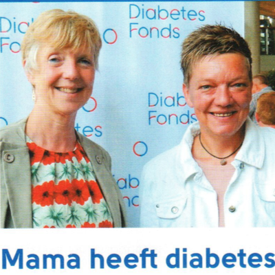 Publiciteitscampagne 'Mama heeft diabetes'