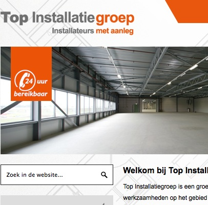 Websites Top Installatiegroep